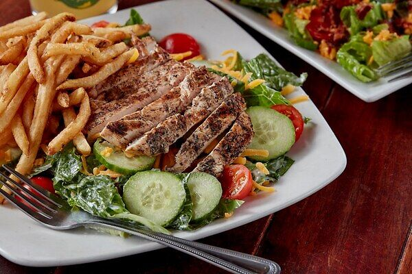 You will never go wrong ordering a salad at Charbar, whether as an appetizer or a main course